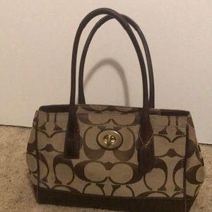 Hampton Madeline tote shoulder Coach bag